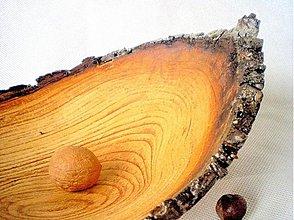 Nádoby - Jabloňová miska riadne sprchnutá /na objednávku - 50901