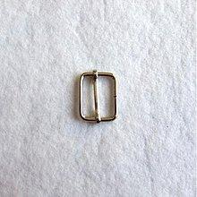 Galantéria - Prevliečna skracovacia spona 25 mm nikel - 519684