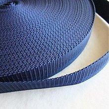 Galantéria - Popruh POP 30 mm modrý - 520140