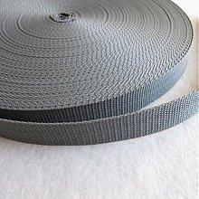 Galantéria - Popruh POP 25 mm šedý - 520156