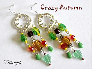 Náušnice - crazy autumn - akcia!!! - 52979