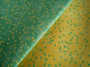 Textil - žlto-zelené - 533545