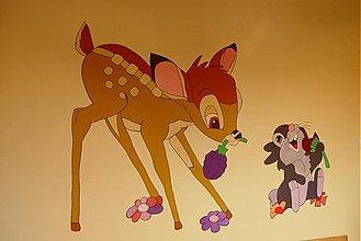 Kresby - zvieratká na lúke - 55047
