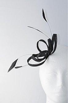 elegantná ozdoba do vlasov - čierna - 551064 55c7372ee5
