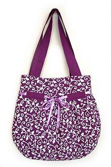 Veľké tašky - Wistéria - veľká taška - 552904