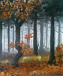 Obrazy - les_po_daždi - 558484