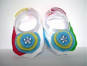 Topánočky - Capačky - guličkové - 566645
