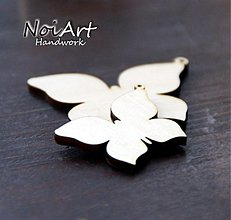 Materiál ručne robený - Základ motýľ - 570066