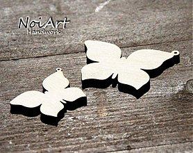 Materiál ručne robený - Základ motýľ menší - 570389