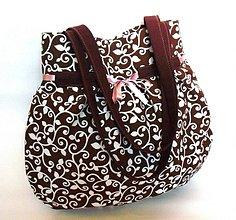 Veľké tašky - Wistéria II.  - veľká taška - 570427