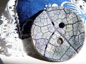 Materiál ručne robený - Gombík - 576293