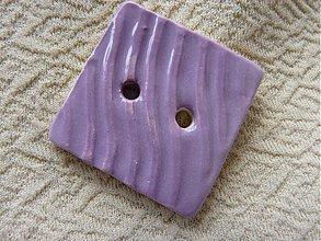 Materiál ručne robený - Gombík - 577341
