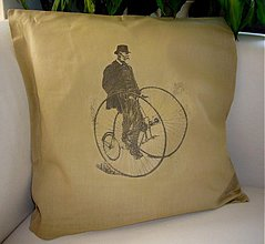 Úžitkový textil - Vankúš cyklistom - 598119