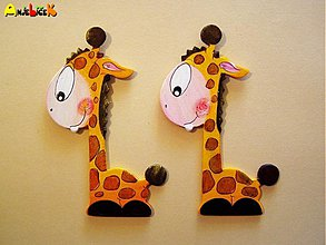 Magnetky - Magnetky Žirafky - 600858