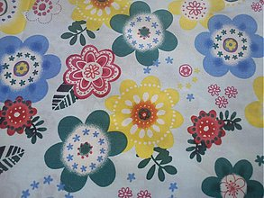 Textil - Kvety 3 - 601876