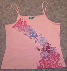 Tielka - ružový sen - 60992