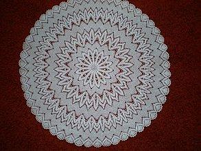 Úžitkový textil - Háčkovaný kruh - 611893