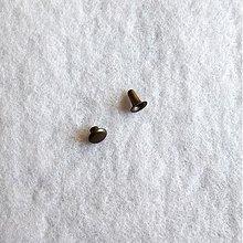 Galantéria - DUTÝ NIT 3x7 mm staromosadz - 611958