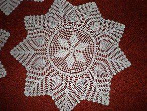 Úžitkový textil - Krémová hviezda - 612560