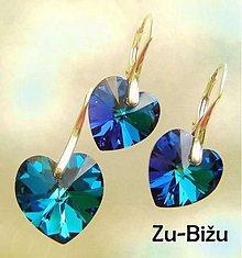 Sady šperkov - Crystal Bermuda Blue - 612763