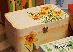 Krabičky - Narcisová krabička - 614052