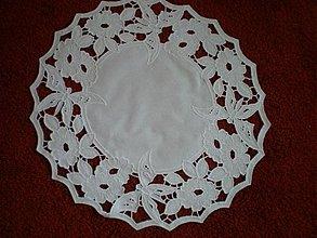 Úžitkový textil - Richelieu kruh - 623215