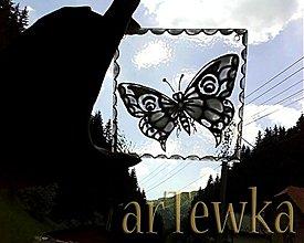 Obrazy - čarovný motýlik - 625899