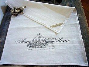 Úžitkový textil - utierka? obrusok? vintage - 627604