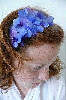 Ozdoby do vlasov - blue and some pink by Hogo Fogo - 632209