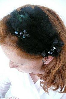 Ozdoby do vlasov - black by Hogo Fogo - 632238