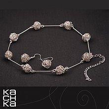 Sady šperkov - Drôtený set - Mliečna dráha - 6389