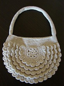 Kabelky - romantická letná kabelka (skladom) - 640068