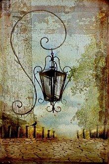 Obrazy - LAMPA 1 fotoplátno 50x70 cm - 640341