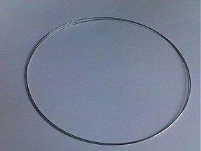 Suroviny - Pamäť.drôt na náhrdelník-150mm-5ot - 648981