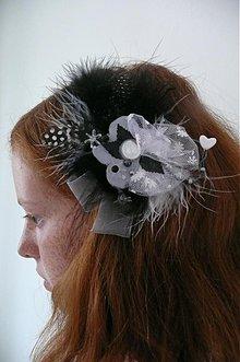 Ozdoby do vlasov - alias sivy kvet by Hogo Fogo - 649333