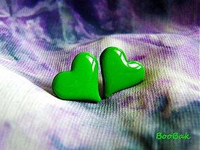 Náušnice - Zelené - 655057
