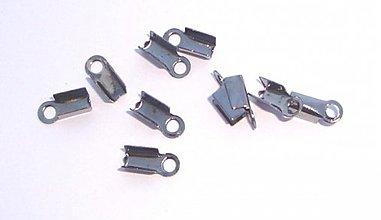 Komponenty - Koncovka 4 x 9 mm – čierna /30ks - 677863