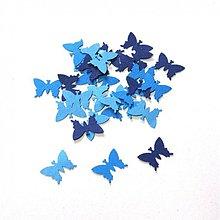Papier - S005 Výseky z papiera - motýlik, 30 ks - 689539
