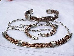Sady šperkov - peruánske inspiro v medi - súprava - 692693