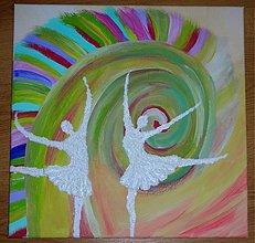Obrazy - Obraz Radosť z tanca - 693508