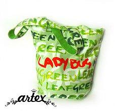 Veľké tašky - LADY BUG - veľká taška - 694026