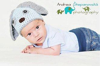 Detské čiapky - Uško - 697490