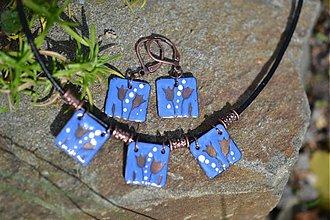 Sady šperkov - tulipány modré - 708179