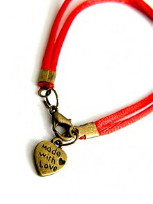 Náramky - made with love - bronz kabbalah - 713474