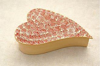 Krabičky - Šperkovnica - srdce - 716452