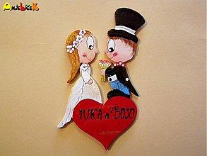 Tabuľky - Menovka svadobná - 726259