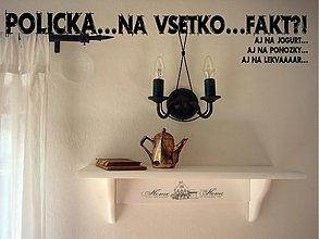 Nábytok - Polička...vintage - 749107