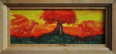 Obrazy - Ruby Dragonshrine - 758809