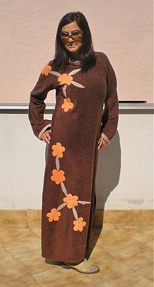 Šaty - šaty Teplo zeme - 759391