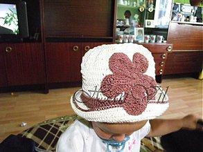 Detské čiapky - dievčenský klobúčik - 760819